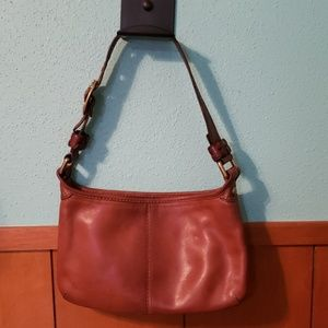 Brown Leather Coach Hobo Purse
